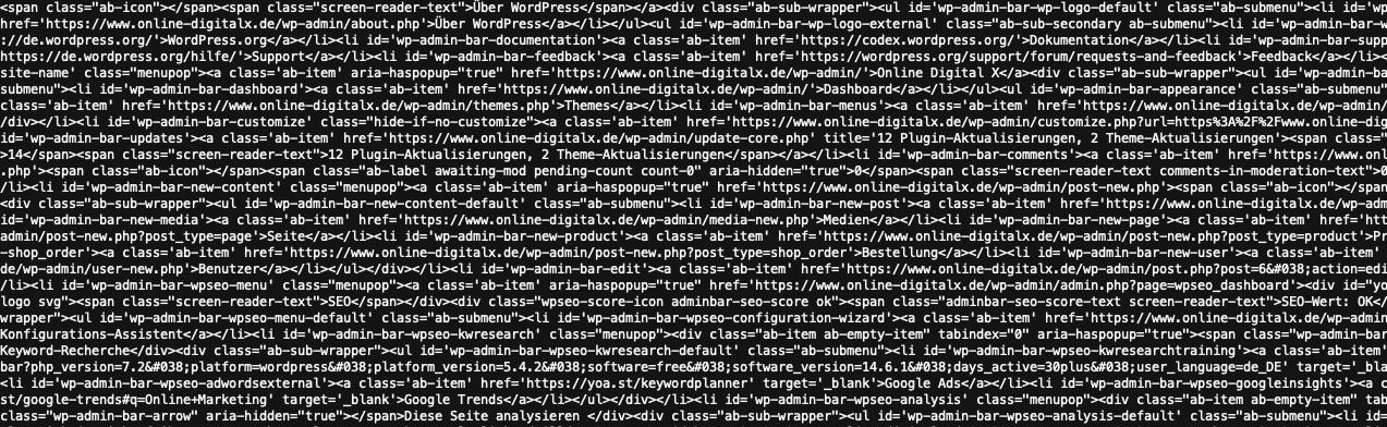 online digital x programmierung